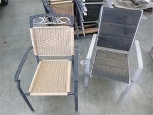 1 x Pallet of Outdoor Chairs