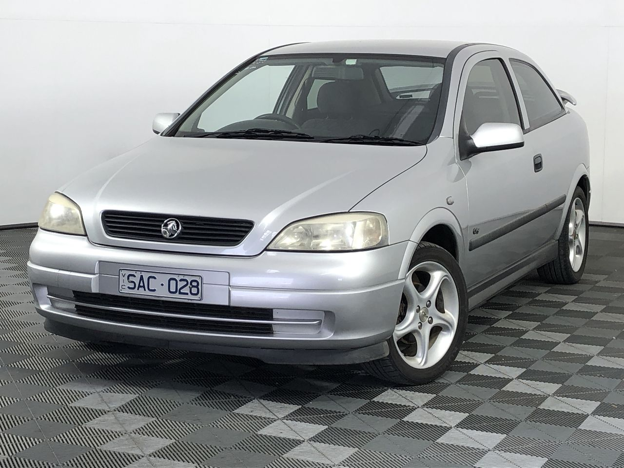2002 Holden Astra City TS Automatic Hatchback