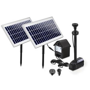 110W Solar Fountain Battery Outdoor Foun