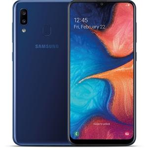 SAMSUNG A20 Mobile Phone, 32GB Blue. Com