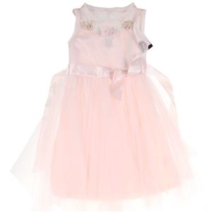 ZUNIE Girl`s Dress Tie Floral Dress, Siz