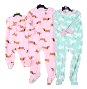 3 x Assorted CARTER Onesies, Sizes: 6M &