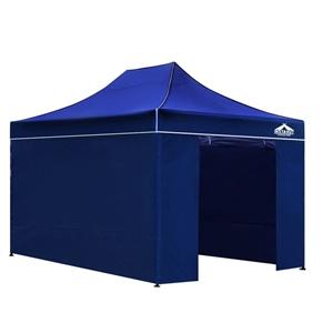 Instahut 3x4.5m Outdoor Gazebo - Blue