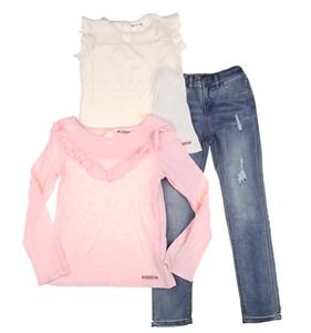 3 x HUDSON Girl`s Clothing, Size 6, Cott