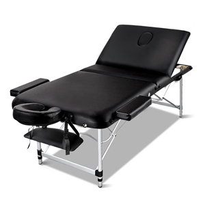 Zenses Massage Table 70cm Portable 3 Fol