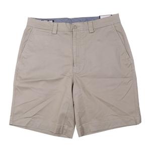 SIGNATURE Men`s Cotton Twill Shorts, Siz