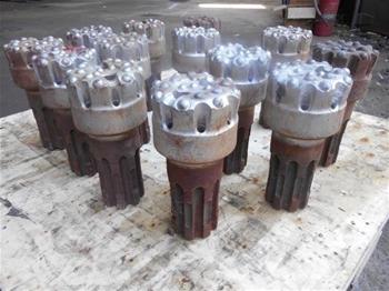 13 x Hammer Drill Bits