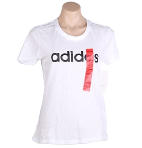 ADIDAS Women`s Essential Linear Slim T-S