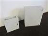 Qty 2 x Plastic Control Box Cabinets