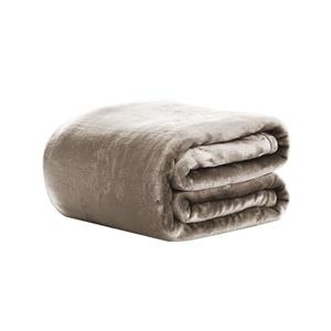 Giselle Bedding Faux Mink Blanket Quilt