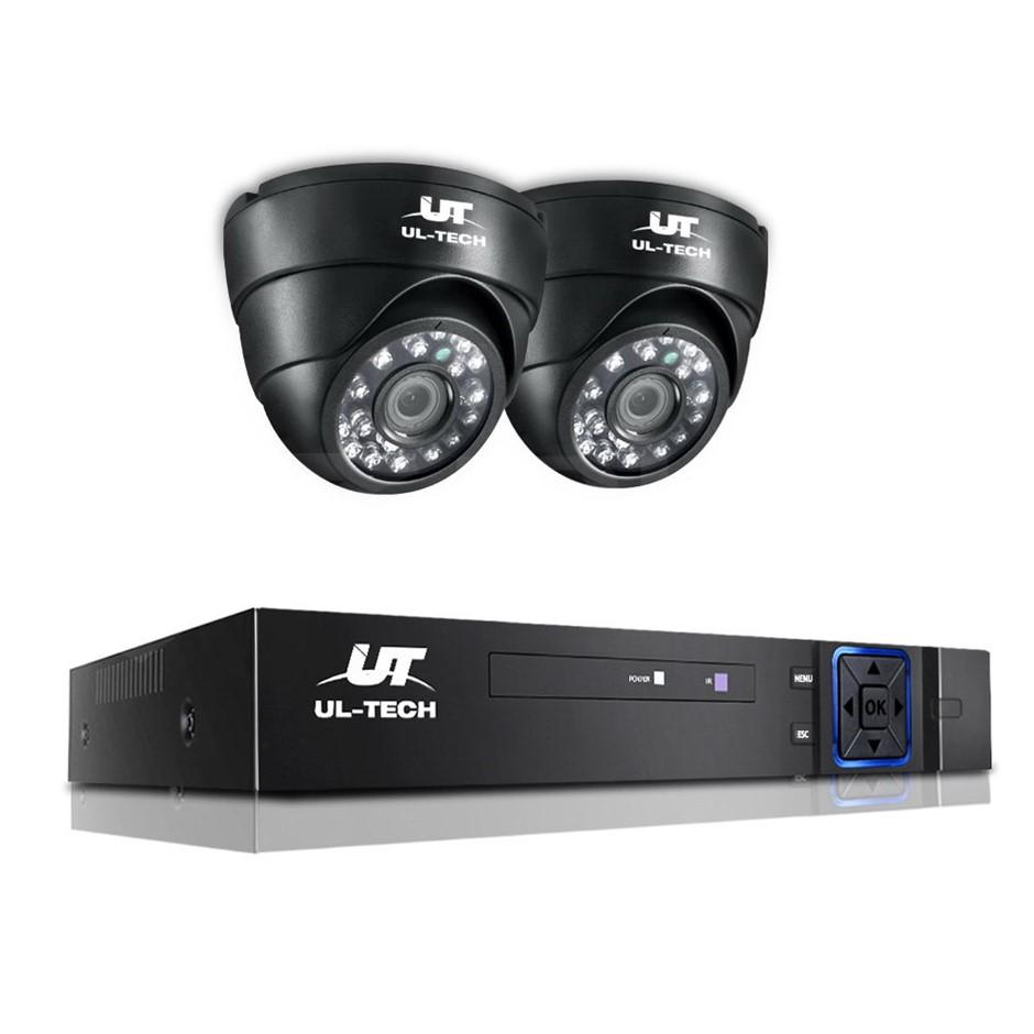 UL-tech CCTV Camera Security System 4CH DVR HD 1080P Outdoor IP Kit