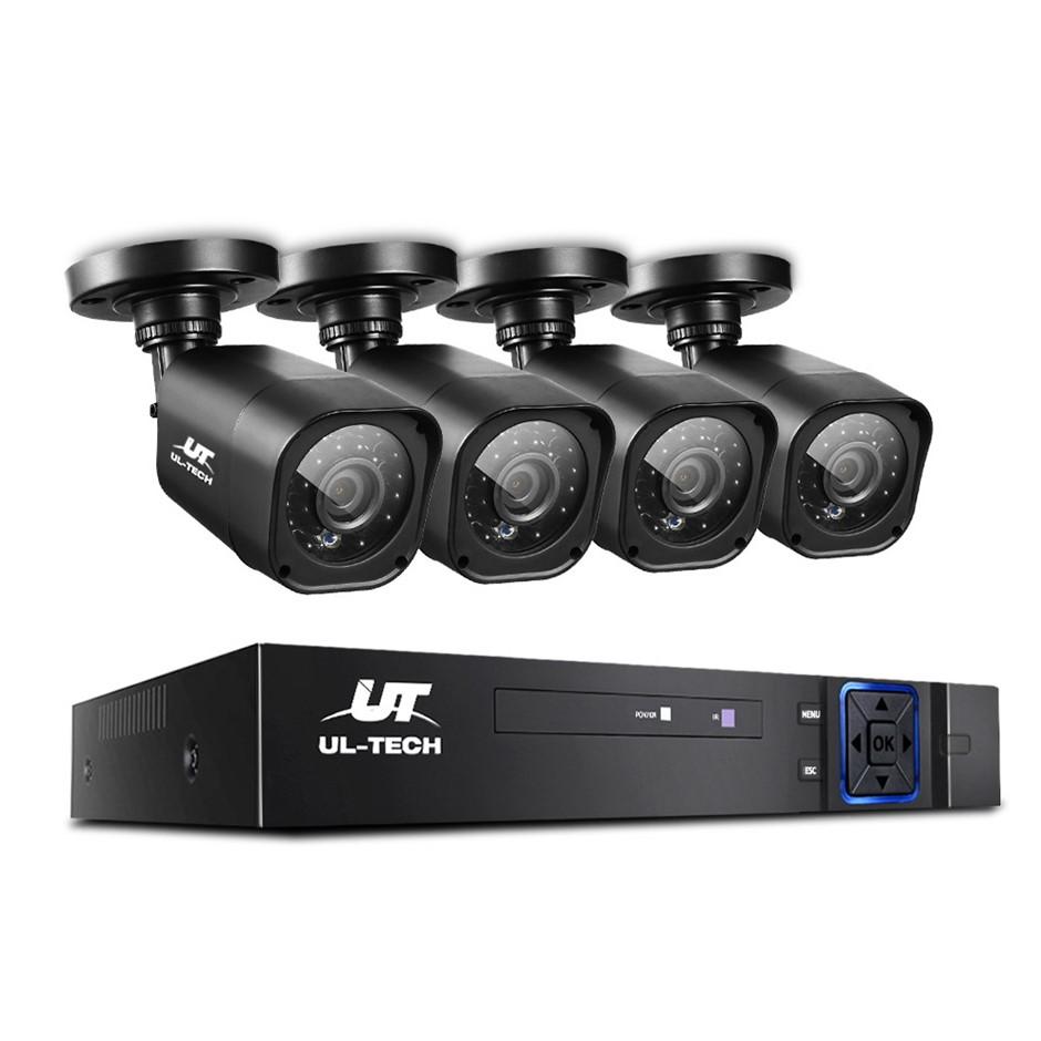 UL-tech CCTV Camera Security System 8CH DVR 1080P Outdoor Long Range Kit