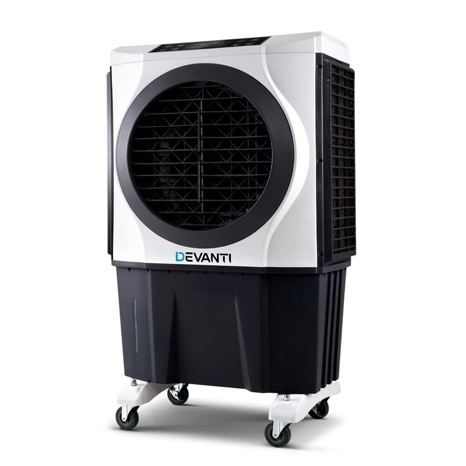 Devanti Evaporative Air Cooler Conditioner Commercial Fan Purifier