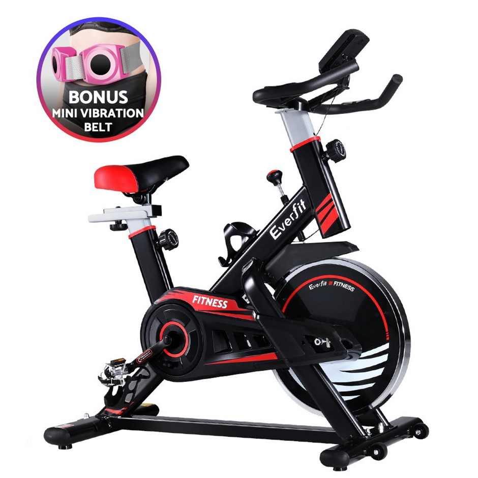 Everfit Spin Exercise Bike Cycling Fitness Home Workout Gym Equipment