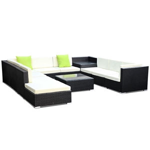 Gardeon 11 Piece Outdoor Furniture Set W