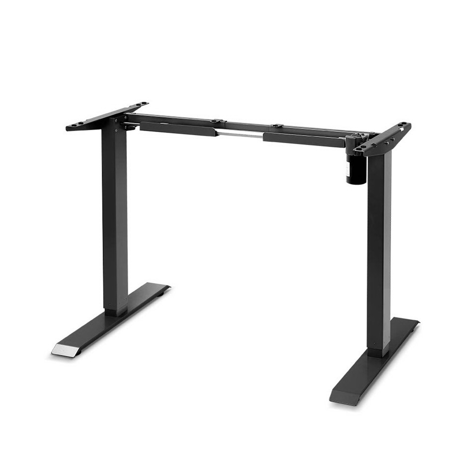 Motorised Height Adjustable Standing Desk Frame - Black