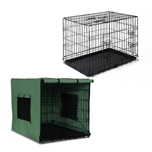 i.Pet 36inch Collapsible Pet Cage with C