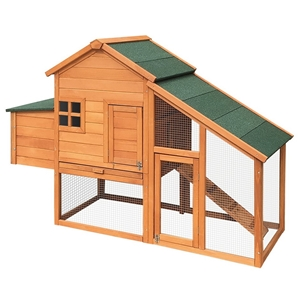 i.Pet 171cm Tall Wooden Chicken Coop