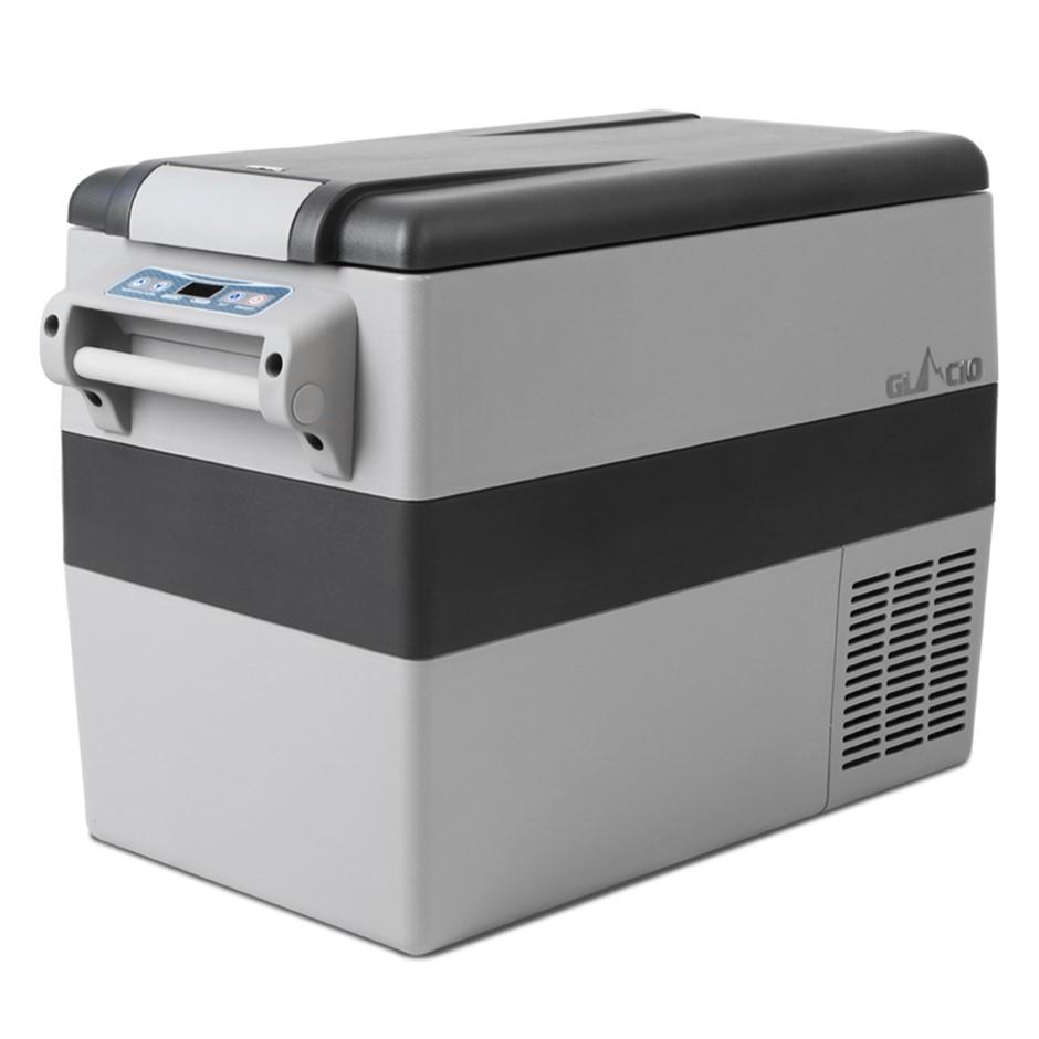 Glacio 35L Portable Fridge Freezer Cooler Camping Caravan - Grey