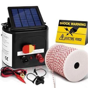 Giantz 3km Solar Electric Fence Energise