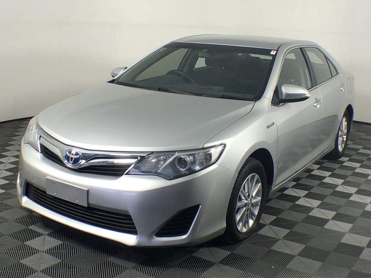 2013 Toyota Camry Hybrid H AVV50R CVT Sedan(WOVR)