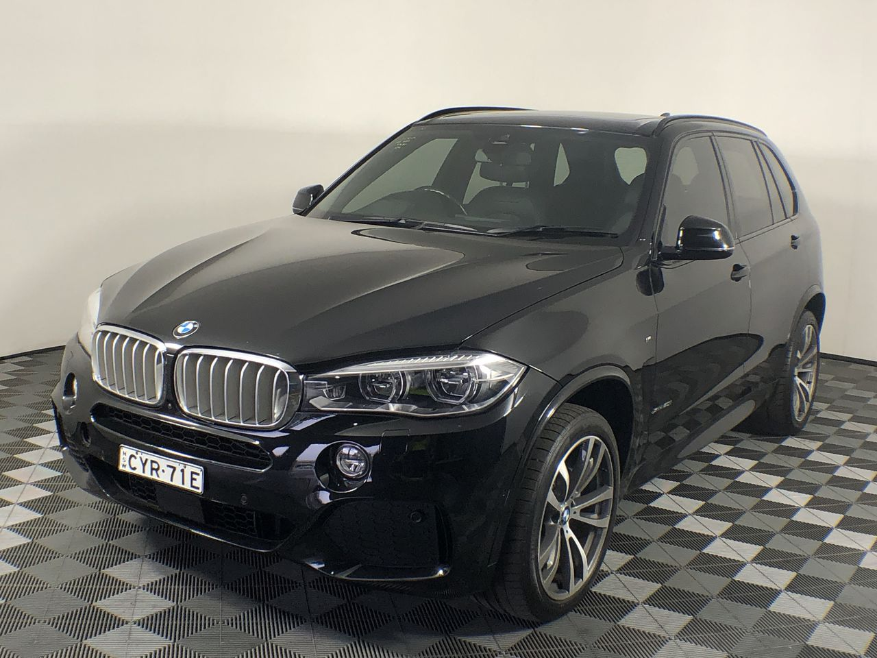 2015 BMW X5 xDrive 50i M-Sport F15 Automatic 7 Seat Wagon 48,176km