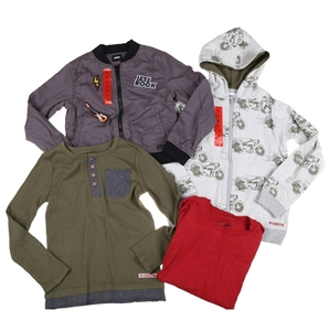 4 x Assorted HUDSON Boy`s Clothing, Incl