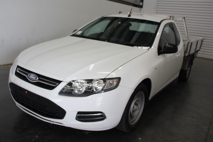 2012 Ford FG II Falcon (LPG) Automatic Cab Chassis