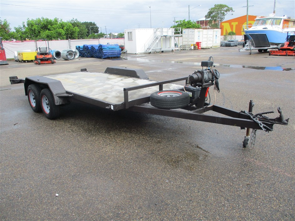 2018 Swiftco Aussie Trailers Tandem Car Trailer