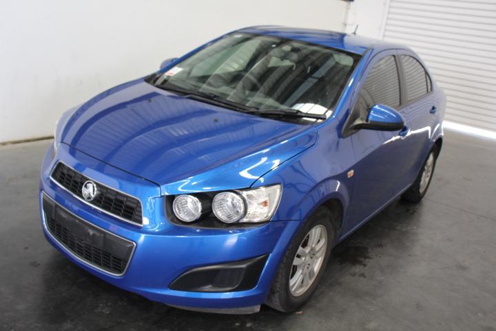 2012 Holden Barina TM Manual Sedan