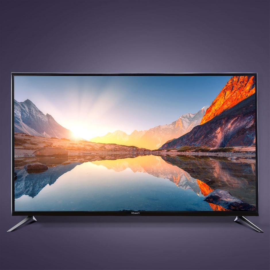 Devanti Smart LED TV 50 Inch 4K UHD HDR LCD Slim Screen Netflix YouTube