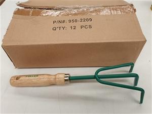 Qty 12 x Fuller Tools Hand Cultivators