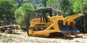 Dresser Dozer Vhlc Tree Pusher