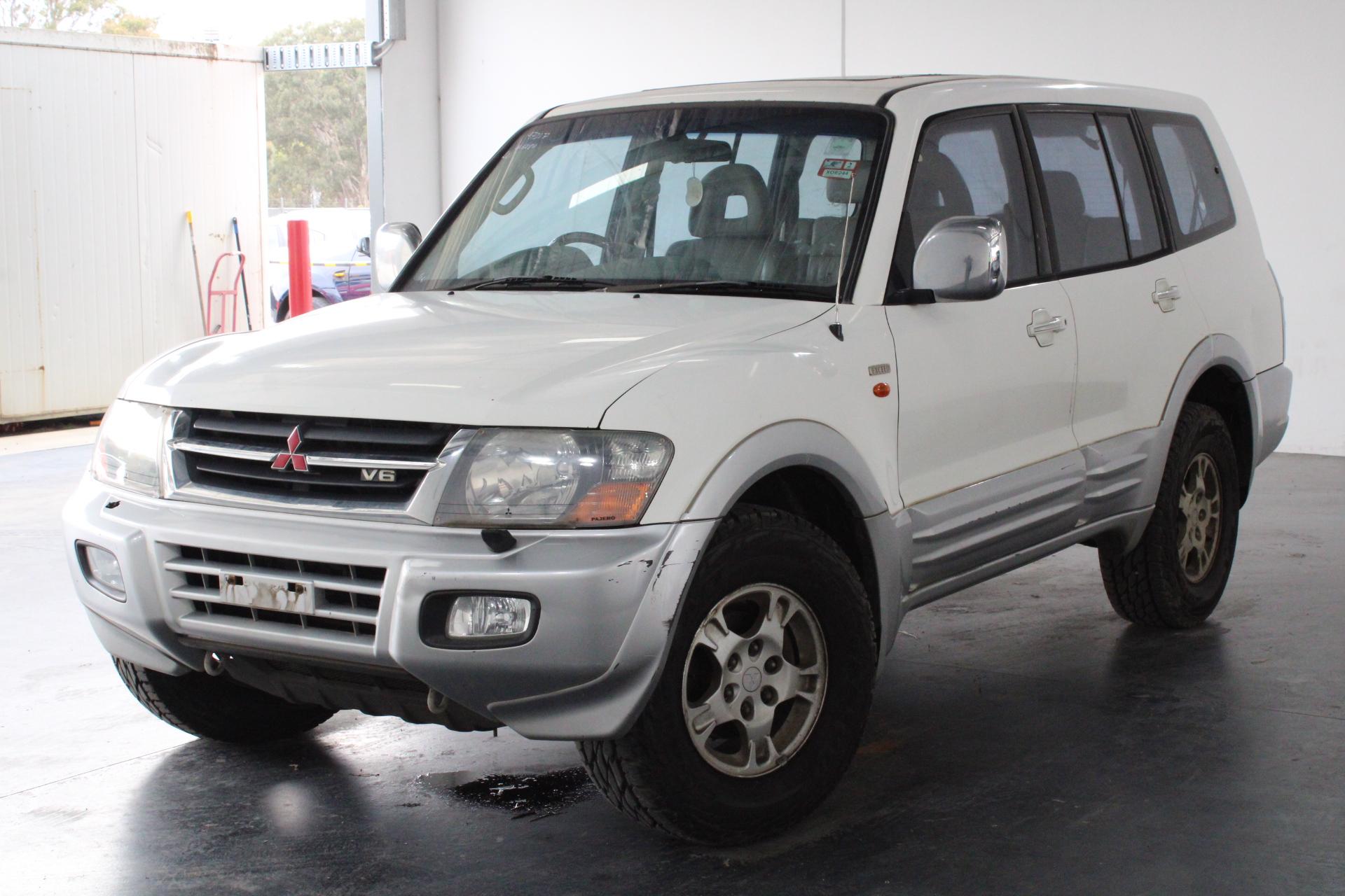 2002 Mitsubishi Pajero GLS LWB (4x4) NM Automatic 7 Seats Wagon