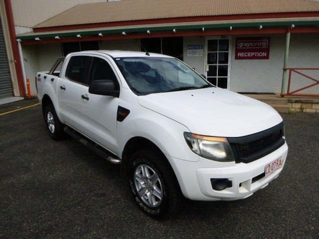 2012 Ford Ranger XL 4WD Automatic - 6 Speed Dual Cab Ute