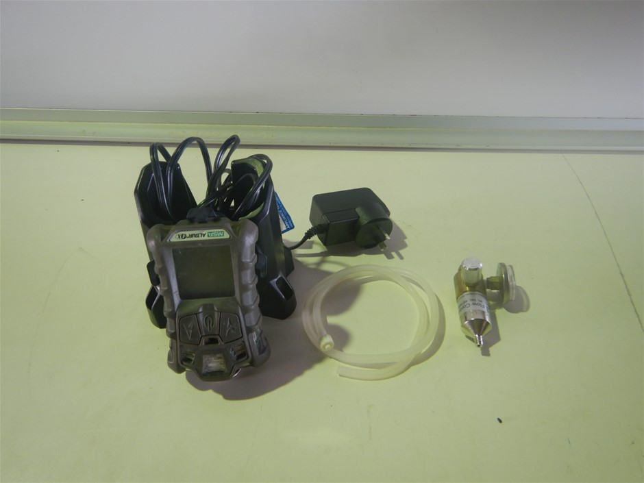 Qty 3 x MSA Altair 4x Personal Gas Monitoring Kit