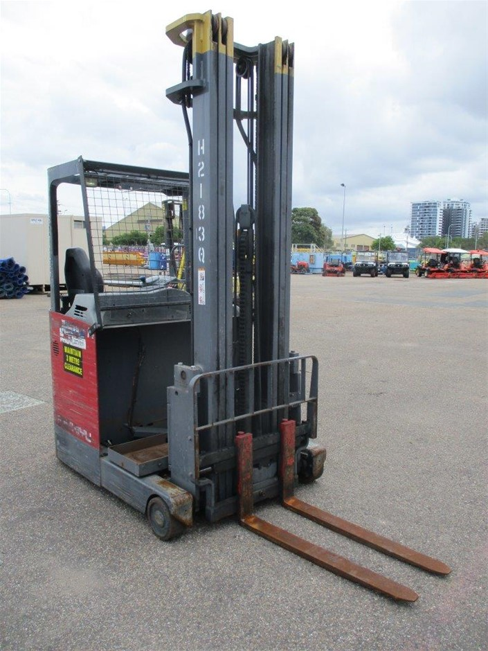Niehiyu FBRF14 70B 650MSF Ride On Reach Truck