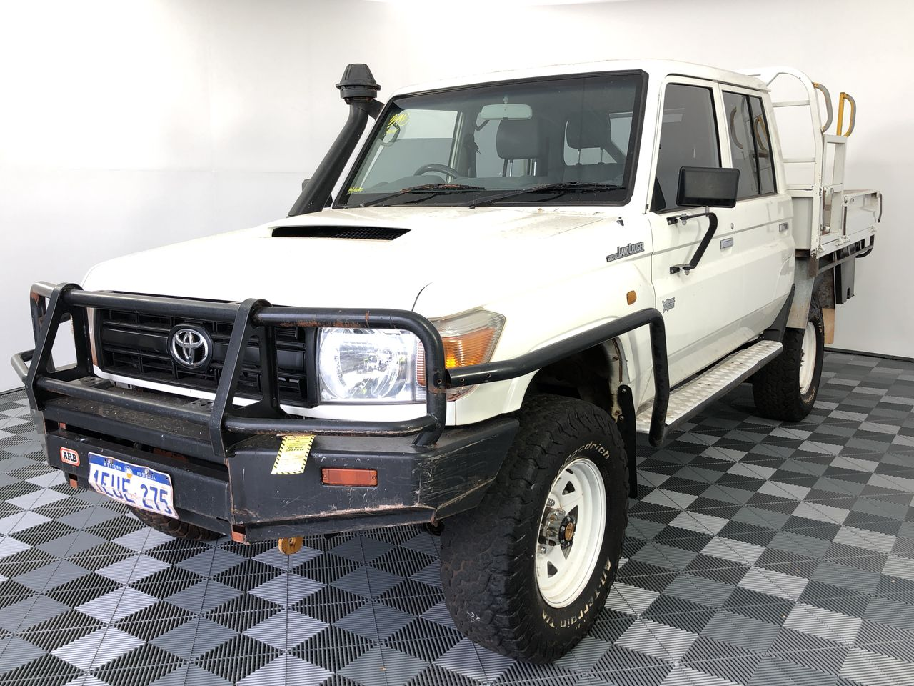 2015 Toyota Landcruiser Workmate (4x4) VDJ79R T/Dsl Manual Crew Cab Chassis