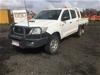 2012 Toyota Hilux 3.0 D4D SR 4WD Manual - 5 Speed Dual Cab Ute