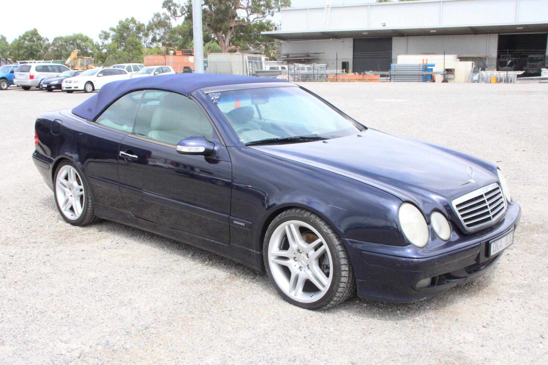 2001 Mercedes Benz CLK320 Elegance A208 Automatic Convertible