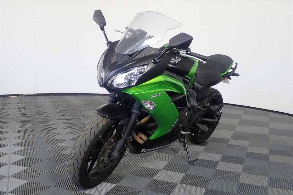 2012 Kawasaki EX650F Ninja Road Bike