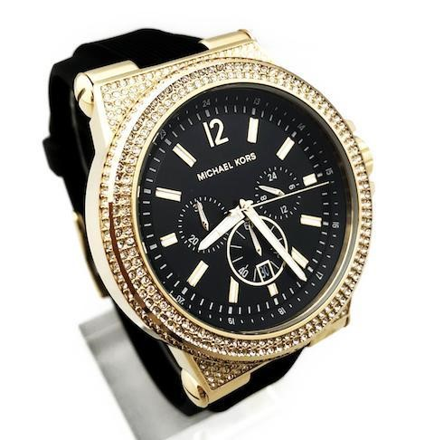 Never worn Michael Kors NY Couture 'Dylan' very classy diamante watch,