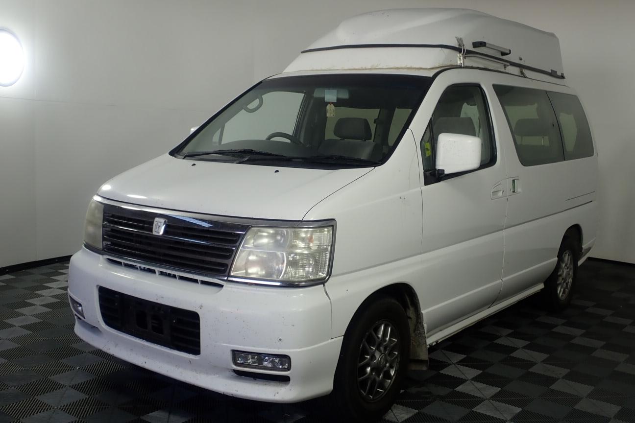 2001 Nissan Elgrand Automatic Campervan