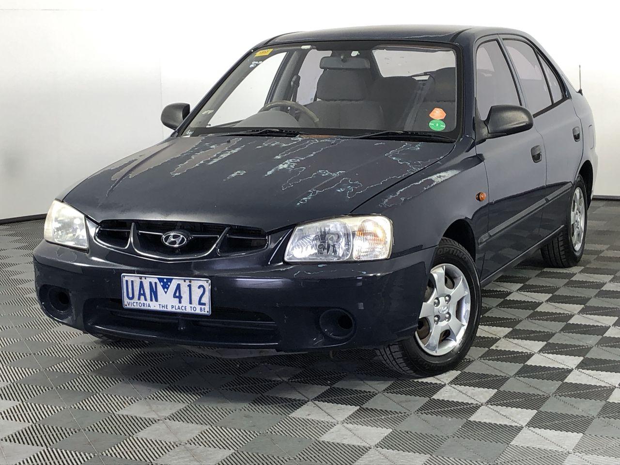 2001 Hyundai Accent GL LS Automatic Hatchback