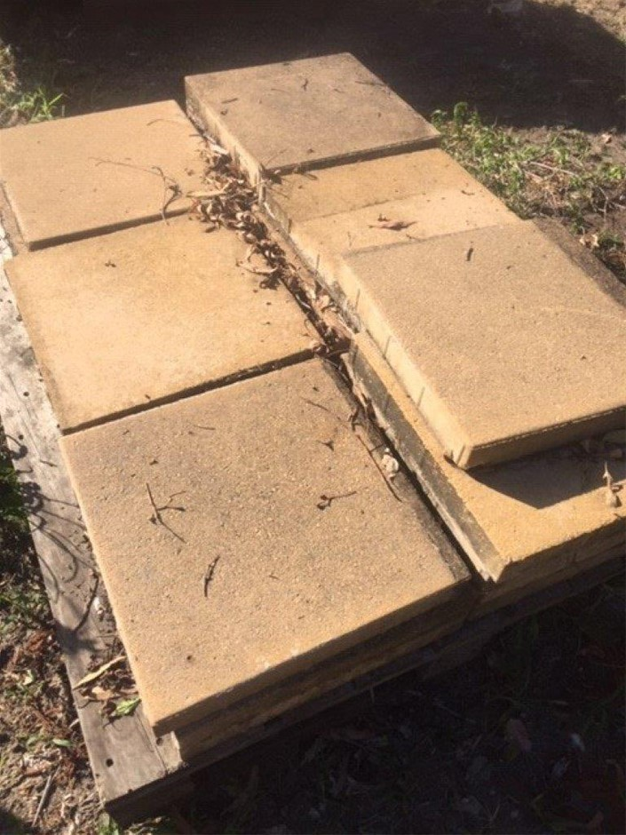 3 Pallets of Pavers