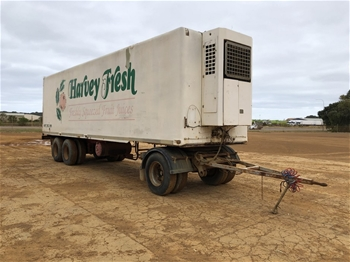 FTE Dual Axle 40ft Refrigerated Trailer with Single Axle Dolly