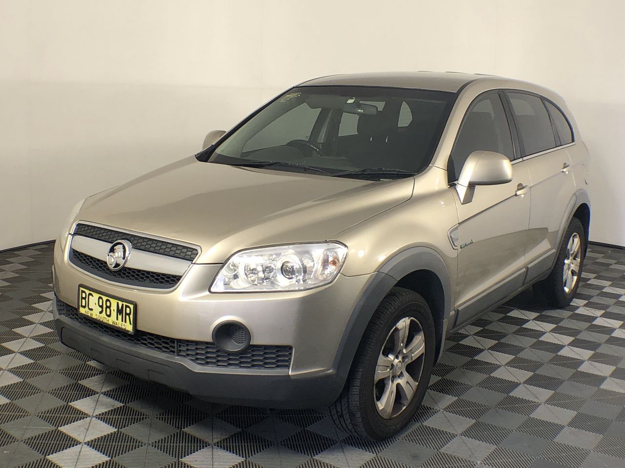 2009 Holden Captiva SX (FWD) CG Turbo Diesel Automatic 7 Seats Wagon