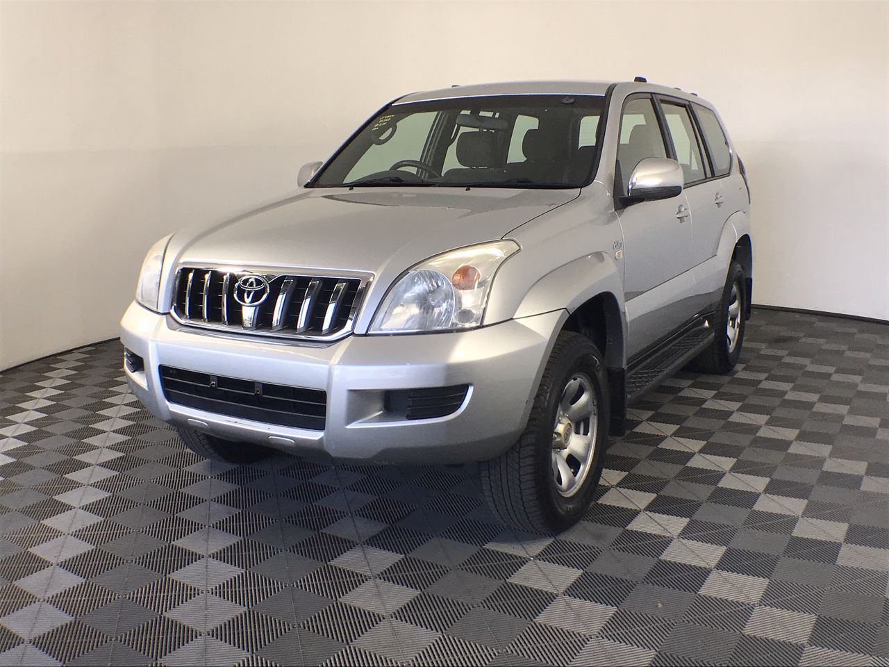 2007 Toyota Landcruiser Prado GX (4x4) Turbo Diesel Manual 7 Seats Wagon