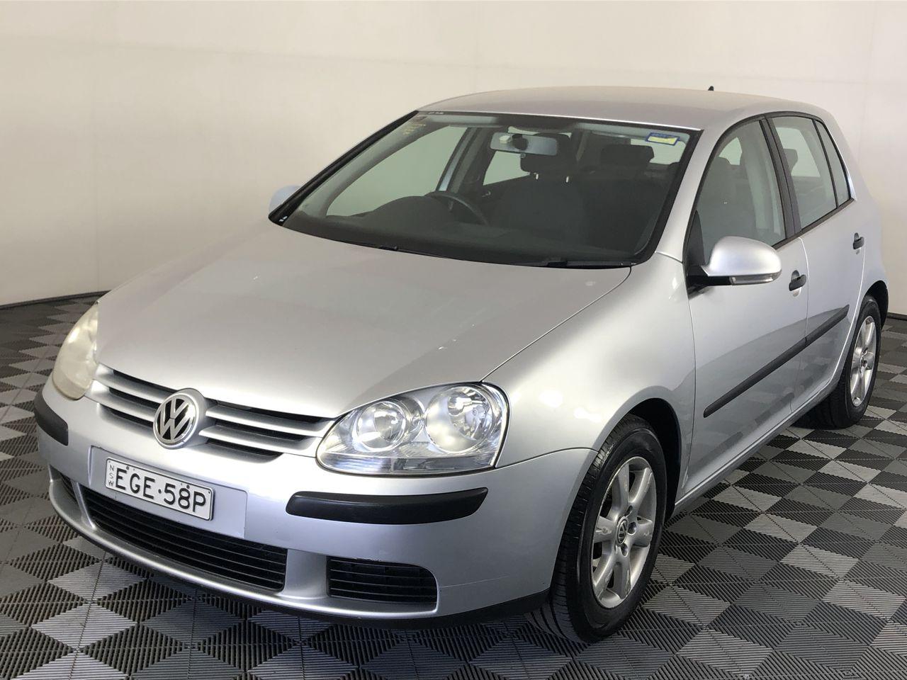 2007 Volkswagen Golf 1.6 Trendline 1k Automatic Hatchback