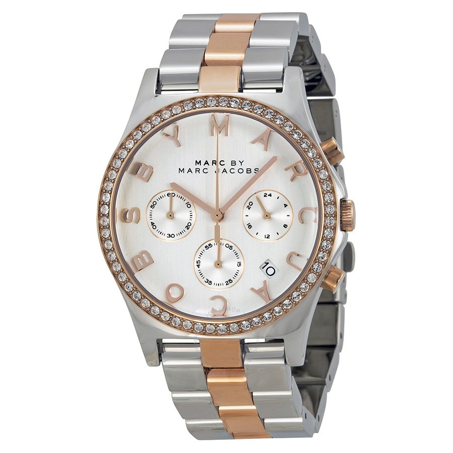Just gorgeous new Marc by Marc Jacobs two-tone ladies watch.